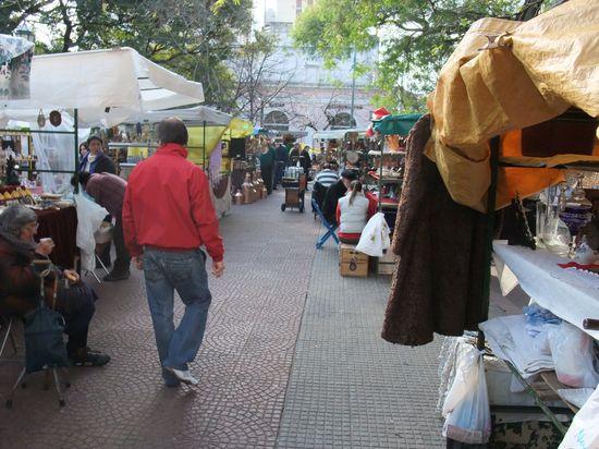Der Markt in San Telmo