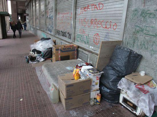 Die Unterkunft der Armen
