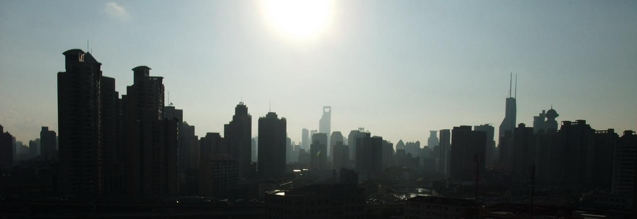 sunrise, shanghai