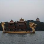 dragonboat hangzhou west lake